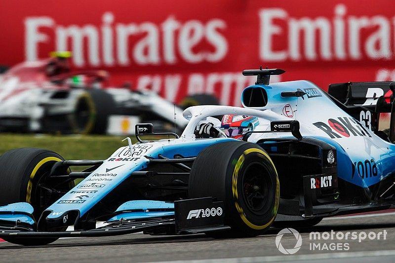 Расселл собрался увеличить скорость Williams за счет менее оптимального пилотажа