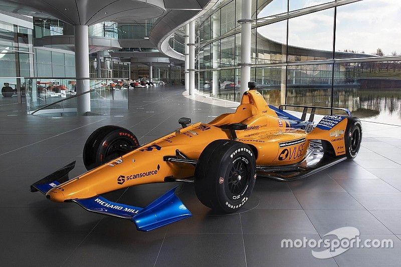 McLaren pokazał barwy