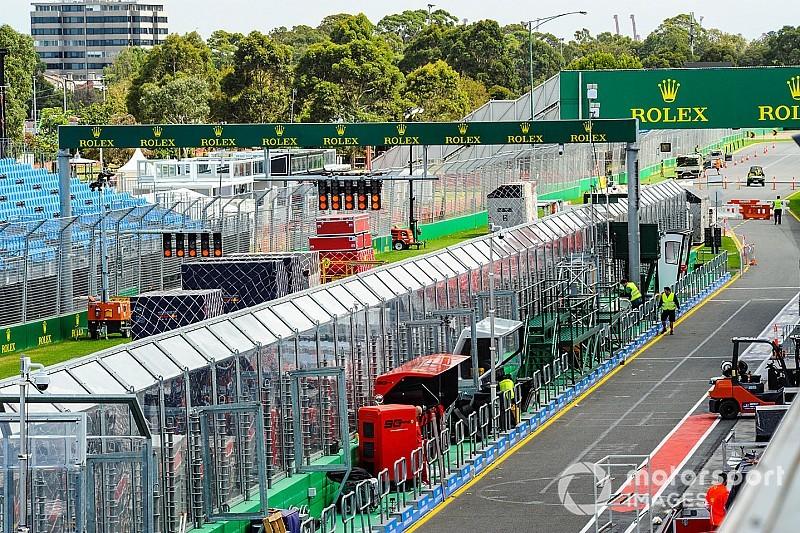 In beeld: Melbourne maakt zich op voor eerste Grand Prix van 2019
