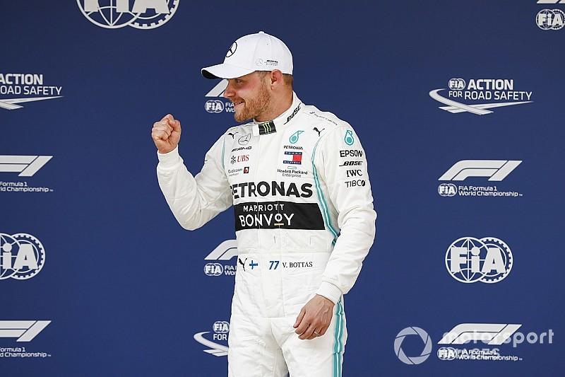 """Bottas: """"Bella pole position, ma avrei potuto fare anche meglio!"""""""