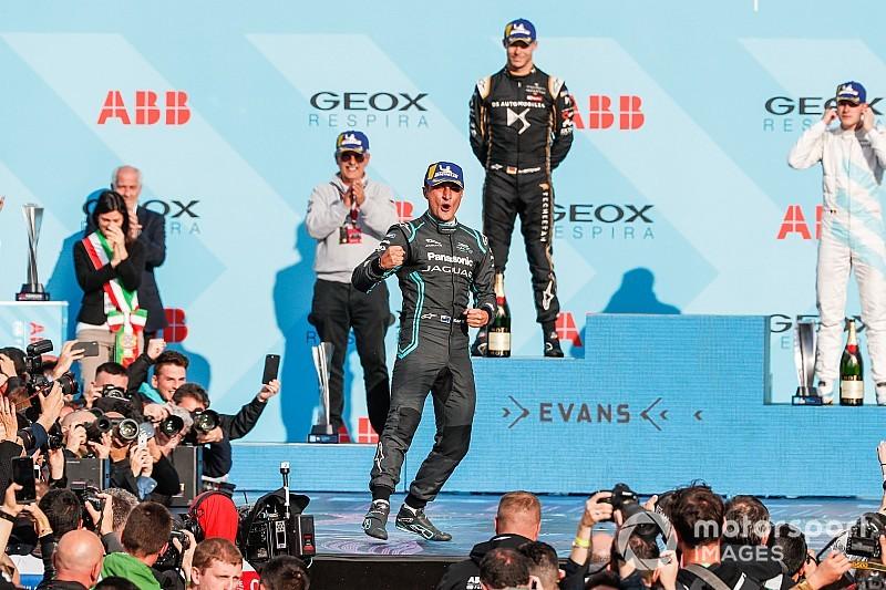 Evans supera a Lotterer para la primera victoria de Jaguar