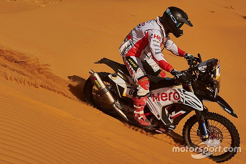 Merzouga Rally: Double top five for Hero after stage 4