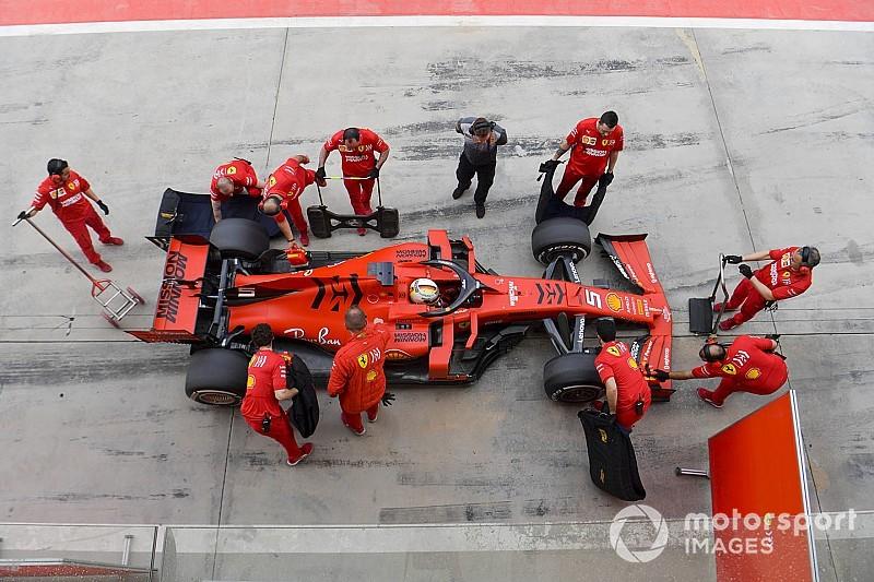 """Vettel: """"Ho simulato alcune fasi di gara: abbiamo buone informazioni per la Cina"""""""