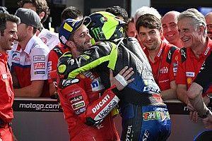 """Rossi: """"Elegiría a Dovizioso y Morbidelli para un MotoGP de las Naciones"""""""