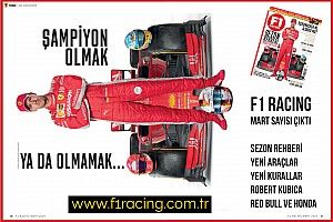 F1 Racing Mart sayısı çıktı