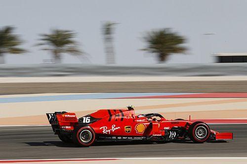 Ferrari põe 0,7s na Mercedes e lidera último treino livre no Bahrein com Leclerc