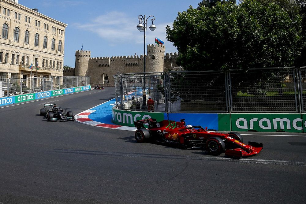Leclerc lost Azerbaijan GP lead to Hamilton after avoiding tree branch