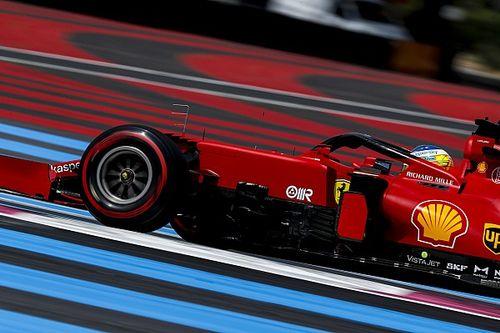 Zużycie opon przeszkodziło Ferrari