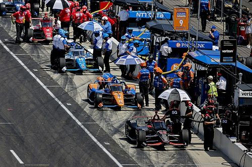 Dixon, Power at odds over desired weather for Indy 500