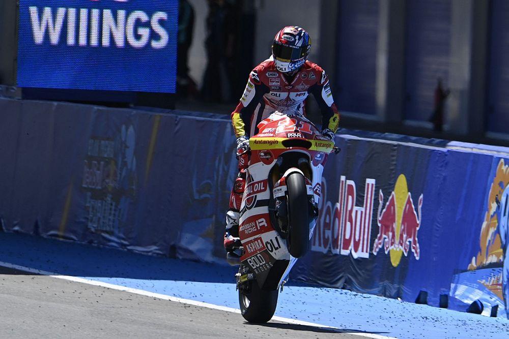 Hasil Moto2 Spanyol: Di Giannantonio Dominan, Gardner Keteteran