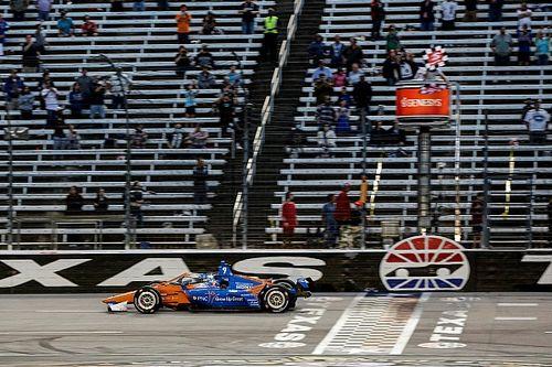 Dixon gana la primera en Texas y O'Ward suma su primer podio
