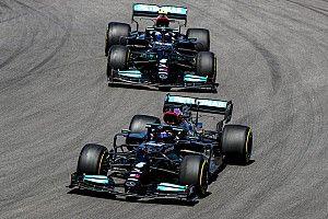 Bottas ve Hamilton, Portekiz GP'de farklı arka kanat tasarımları kullanmış