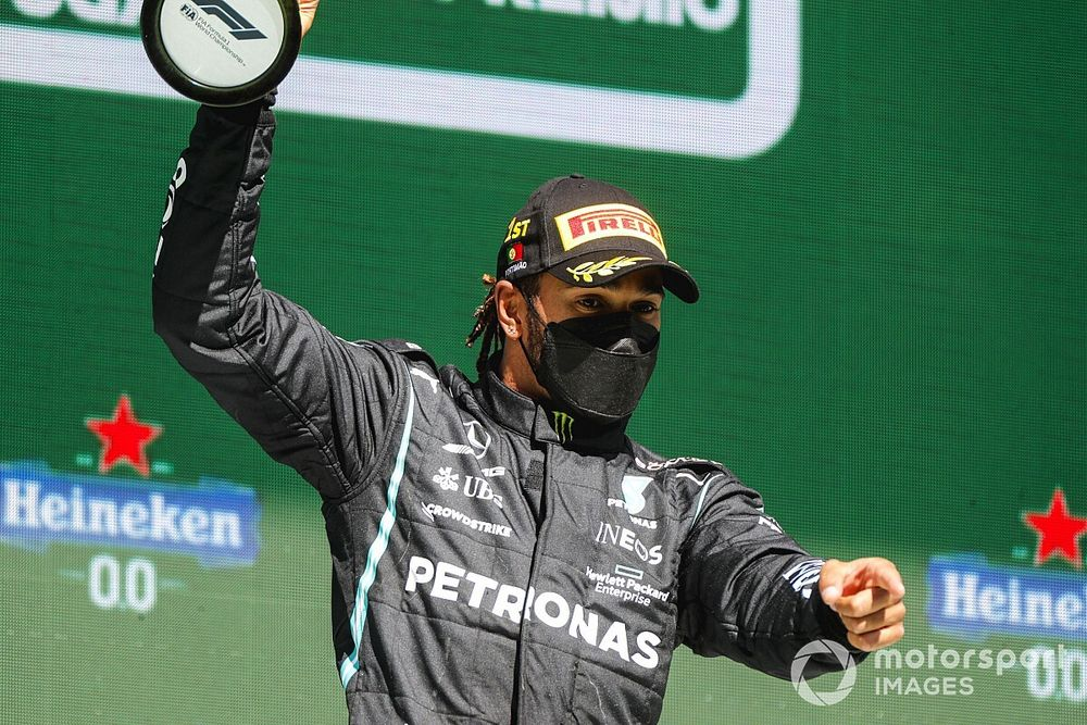 """Wolff: """"Exceptional"""" displays now Hamilton's standard in F1"""