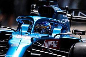 """Alonso, tras su gran salida en Silverstone: """"No iba a levantar"""""""
