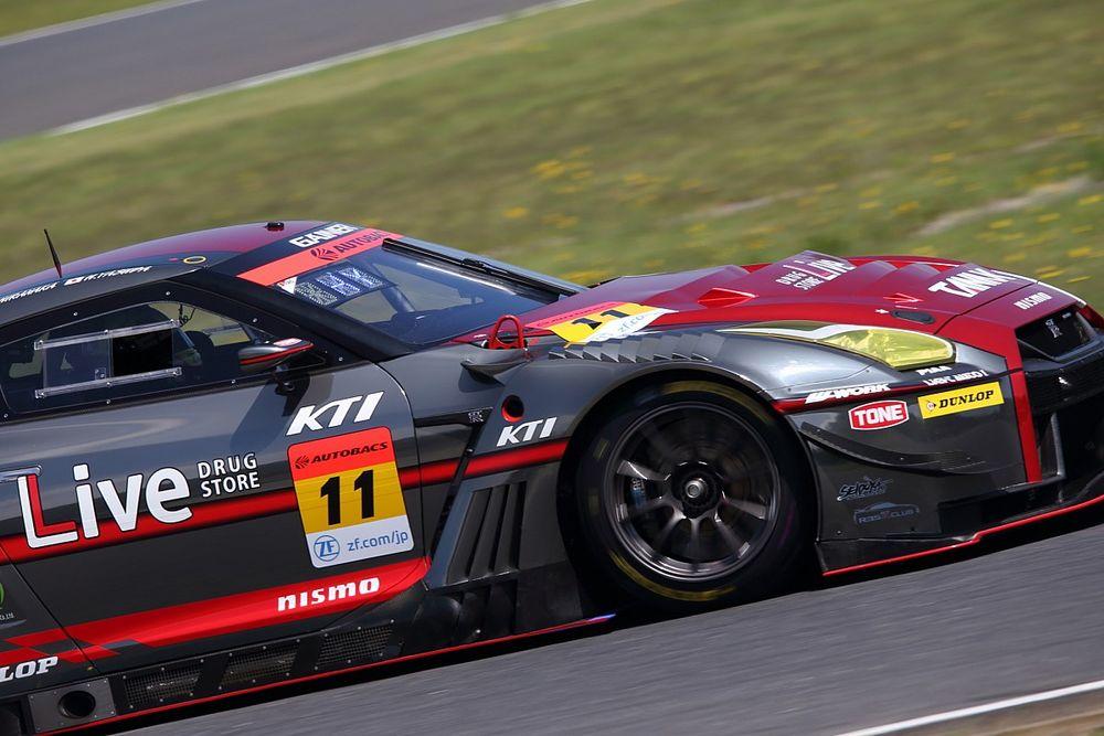 スーパーGT第4戦もてぎGT300予選:11号車GAINER GT-Rが今季2度目PP。安田にとっては初のポール奪取
