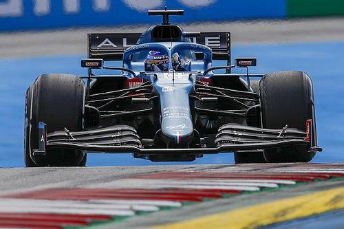 Alonso gefrustreerd door acties Ricciardo en Leclerc