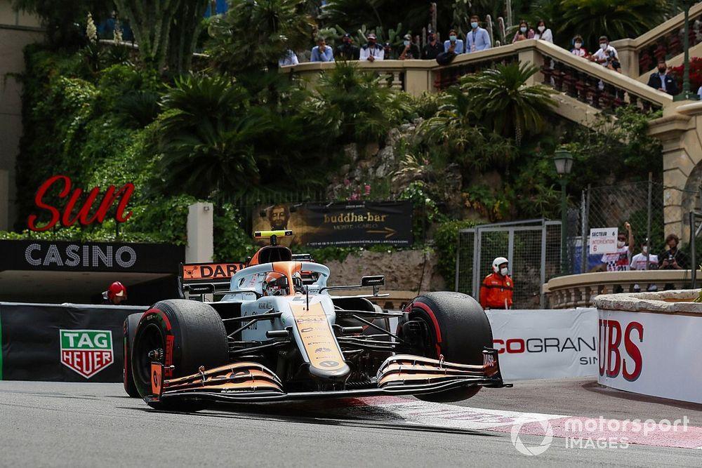 F1: McLaren diz que não esperava ritmo para pódio em Mônaco