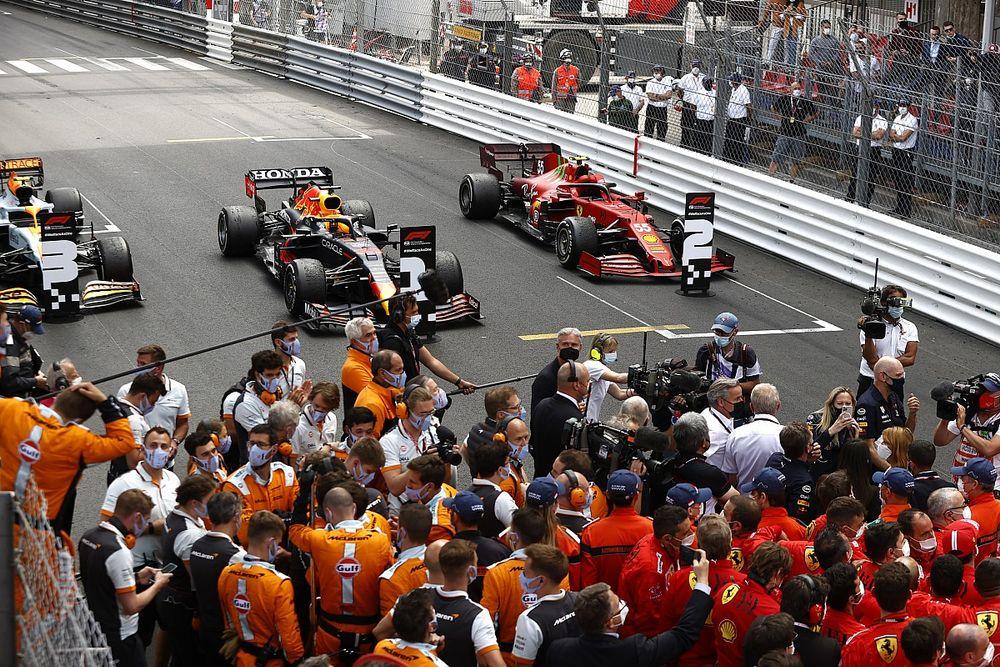 ¡Histórico: primer podio de Sainz con Ferrari... y en Mónaco!
