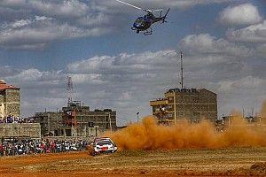 Photos - Sébastien Ogier apprivoise le Safari Rally !