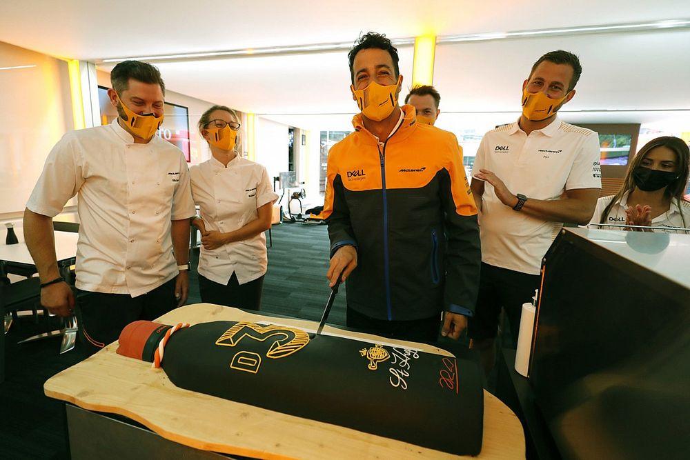 Ricciardo: ''Tekrar burada olduğumuz için mutluyum''