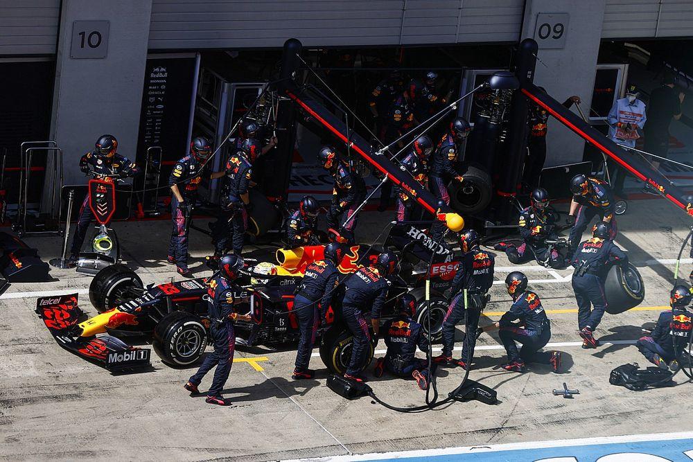 Red Bull, Steiermark GP'de en hızlı pit stoplarına bir yenisini ekledi
