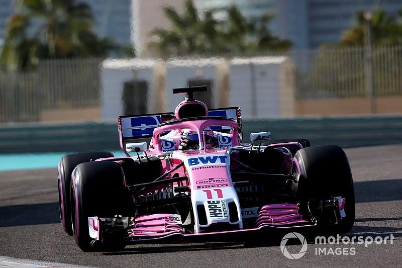 Perez, Force India'nın sorunlarına rağmen sekizinci olduğu için mutlu