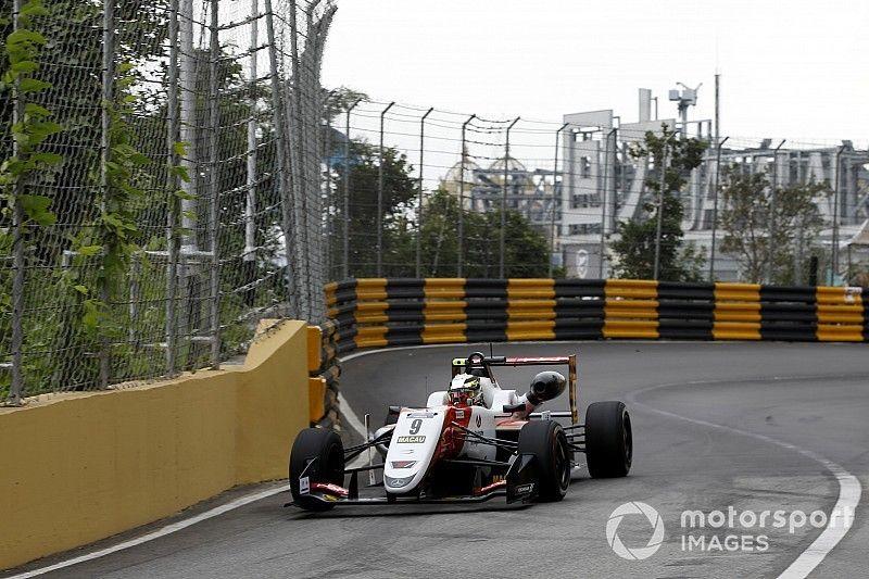 Macau GP: Mick Schumacher tops first practice