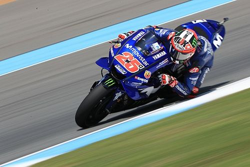 Kembali ke podium, Vinales puji progres Yamaha