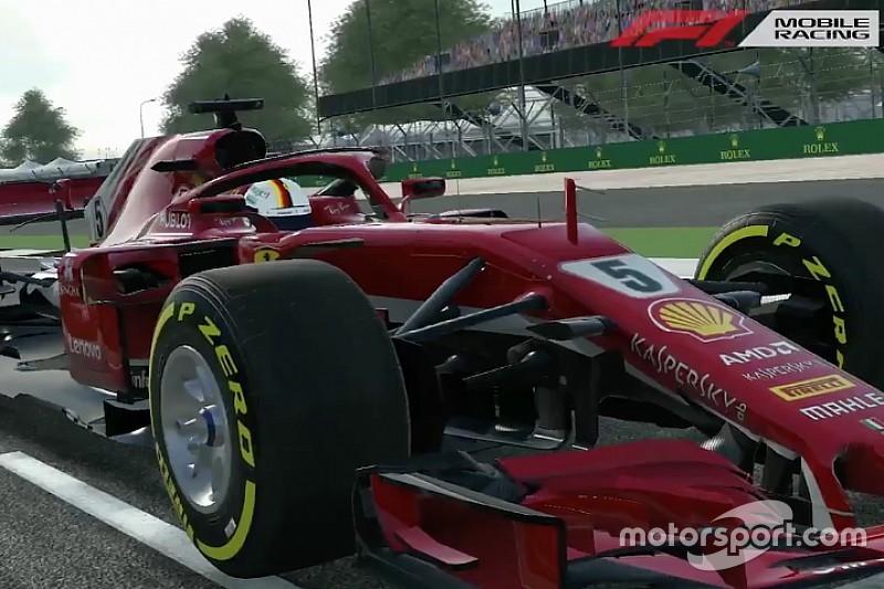 Formule 1 lanceert gratis spel F1 Mobile Racing voor iOS
