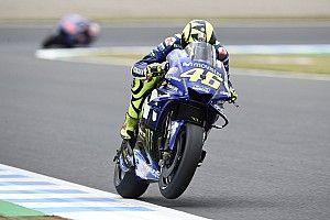 Une erreur de pression de pneu prive Rossi de la deuxième ligne