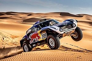 Sainz has reliability concerns over Mini Dakar buggy