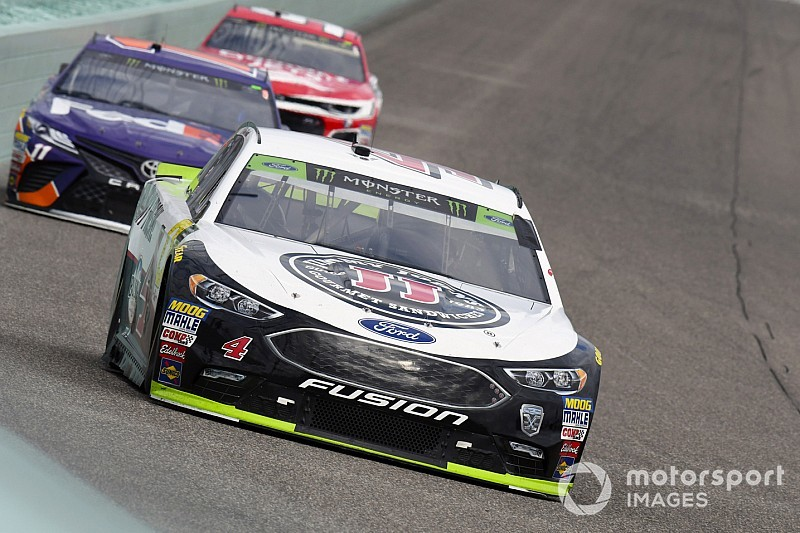 "Kevin Harvick's title hopes faded due to ""a daytime race car"""