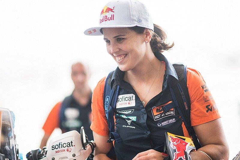 "Laia Sanz se diz ""muito surpresa"" por ter completado nono Dakar seguido"