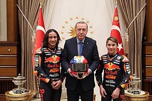 Can ve Deniz Öncü kardeşler, Cumhurbaşkanı Erdoğan ile görüştüler