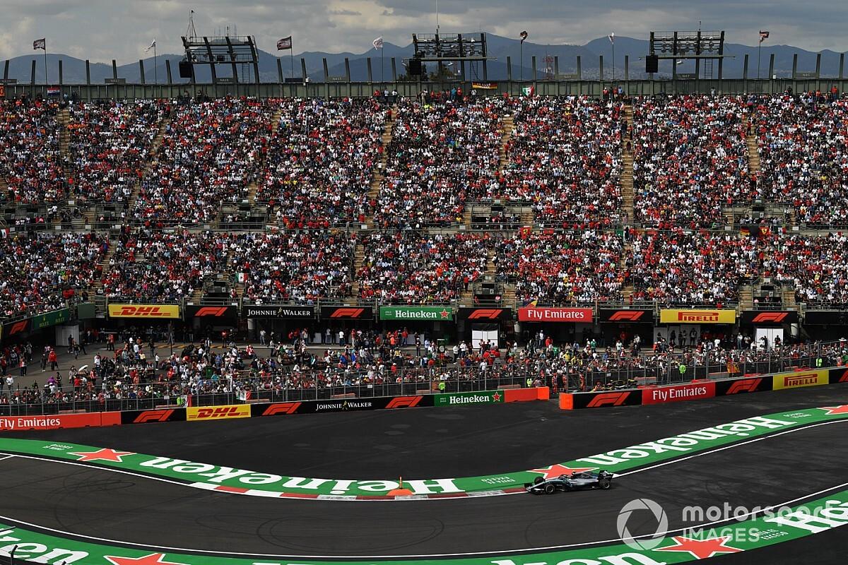 GP de México espera derrama inicial de 215 millones de dólares