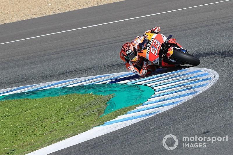 Galería: el último test del año de MotoGP