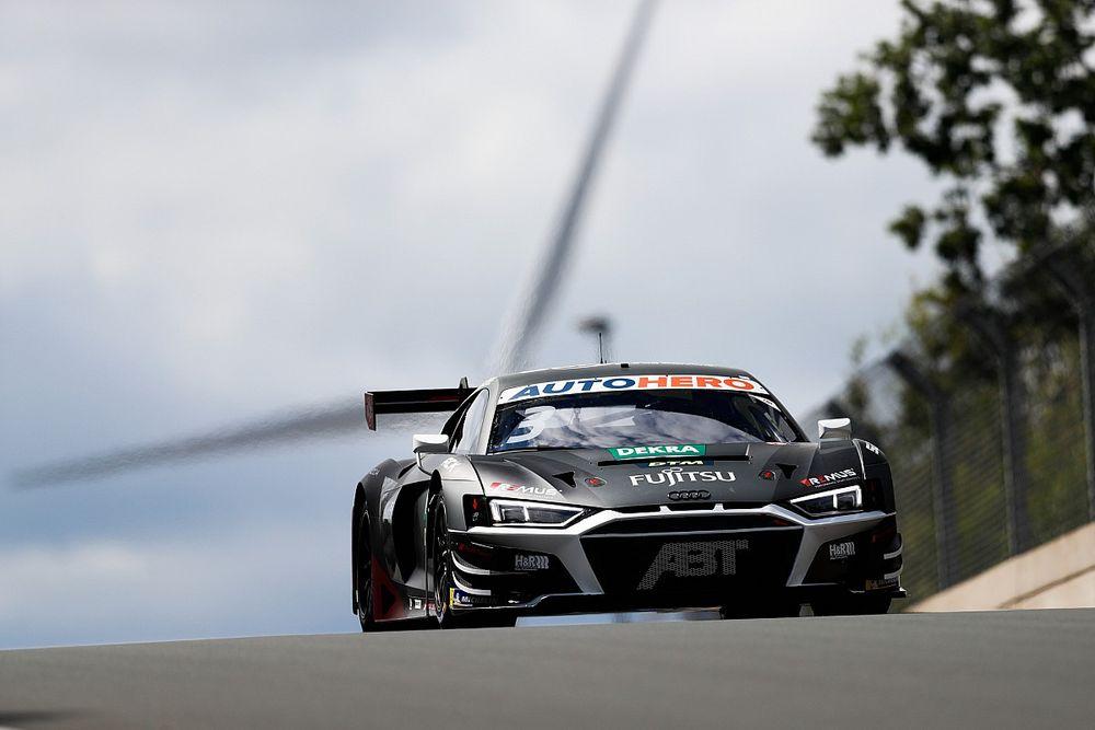 DTM: Van der Linde conquista la prima pole a Zolder