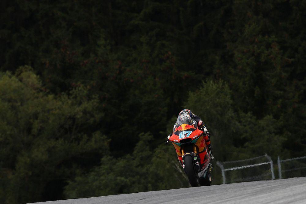 Moto2 Spielberg: Gardner, çaylak Ogura'nın önünde pole pozisyonunda