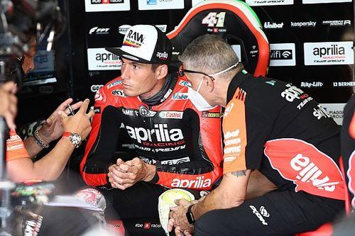 Aleix Espargaró vise un nouveau podium depuis la deuxième ligne
