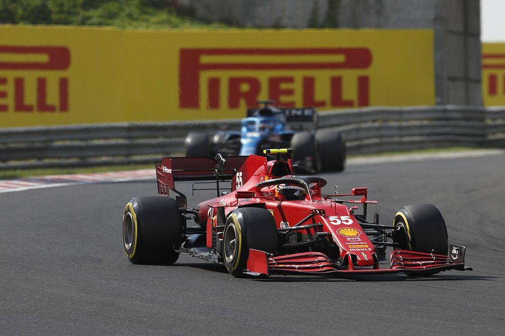 Ferrari: Good that Sainz questioned strategy during Hungarian GP