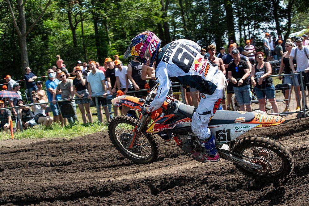 Prado y Fernández rescatan puntos importantes en el MXGP de Bélgica