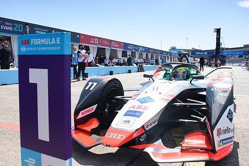 Berlin E-Prix: Di Grassi hangs on from Mortara to claim victory