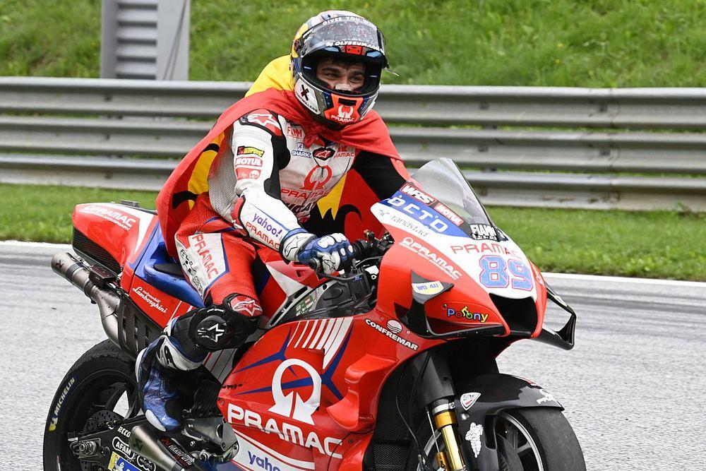 MotoGPスティリア決勝:マルティン、ポール・トゥ・ウィンでMotoGP初優勝! 中上貴晶追い上げ5位