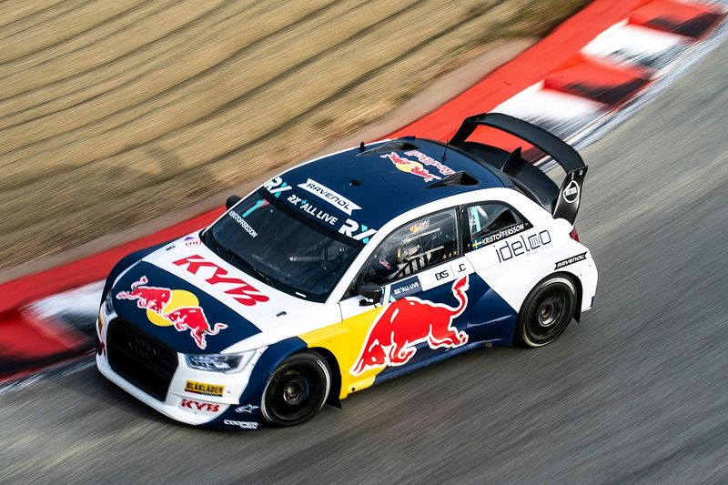 France WRX: Kristoffersson leads Gronholm on opening day