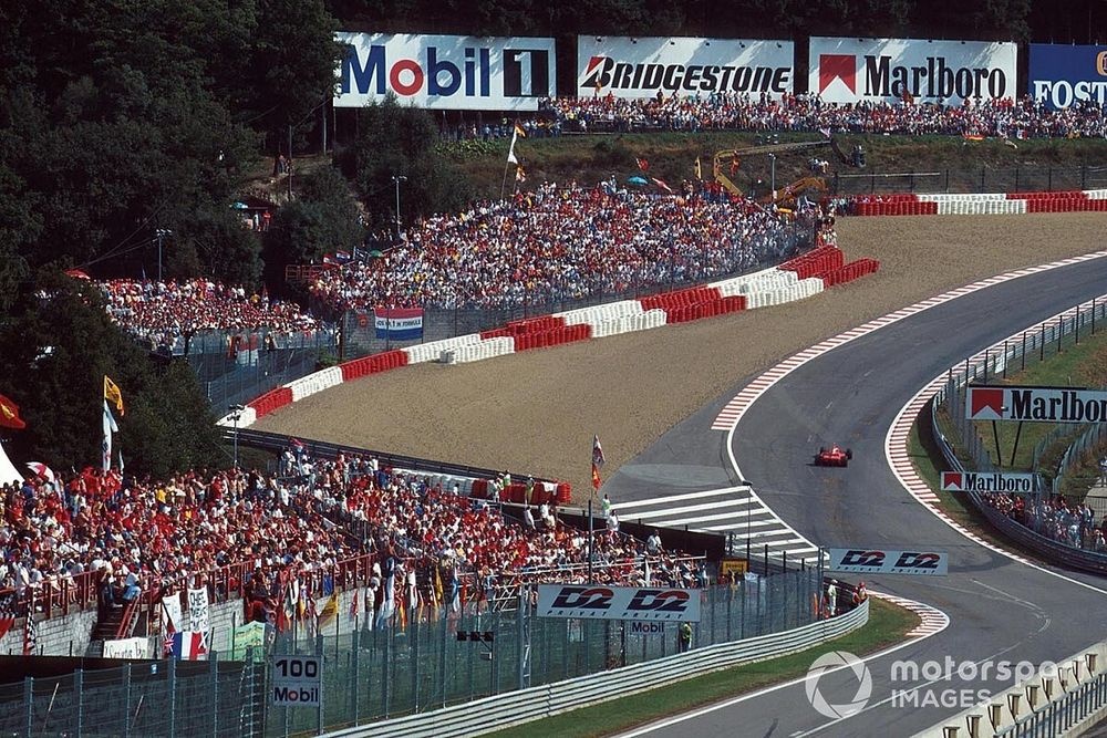 How Schumacher became the master of Spa-Francorchamps