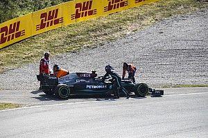 Wolff pide parar el reloj de la F1 ante bandera roja en libres