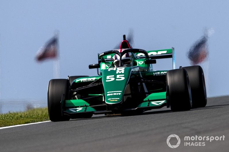 W Series Zandvoort: Chadwick leads practice from title rival Powell