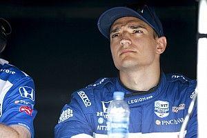 Palou sufrió un accidente en Gateway y pierde el liderato de IndyCar