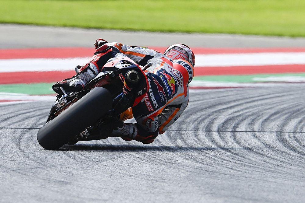 Marquez Masih Asing dengan Ban Belakang Baru Michelin