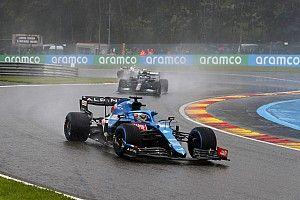 """Alonso: """"Es extraño que se repartan puntos en Bélgica"""""""